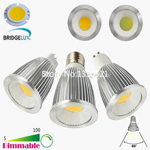 Bombillas 6W 9W 12W LED COB Spotlight Dimmable MR16 GU5.3 GU10 E26 E27 LED Spot Down Light Lamp Bulbs Lampada Ampoule Candle Luz(China)