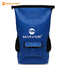 MARJAQE 22L Waterproof Outdoor Drifting Backpack Durable Swimming Bag Dry Bag Outdoor Camping Hiking Travel Kits