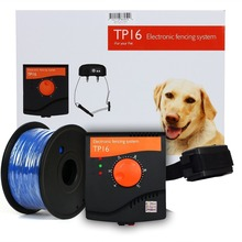 Invisible Pet Fence System 1000 Ft Extra Thick 18 Gauge Wire Rechargeable Waterproof Shock Adjustable Receiver Collar
