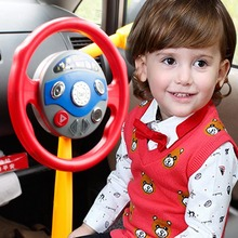 Driving Machine For Kids Electronic Backseat Driver Music Toy Steering Wheel Learning to Drive Simulated Gift Toy