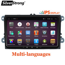 Silverstrong Jetta автомобиль DVD Android7.1 радио 4 ядра автомобилей ANDROID для VW Golf6 Golf5 Tiguan Passat B6 B7 поло gps Android 901BT3(Hong Kong,China)