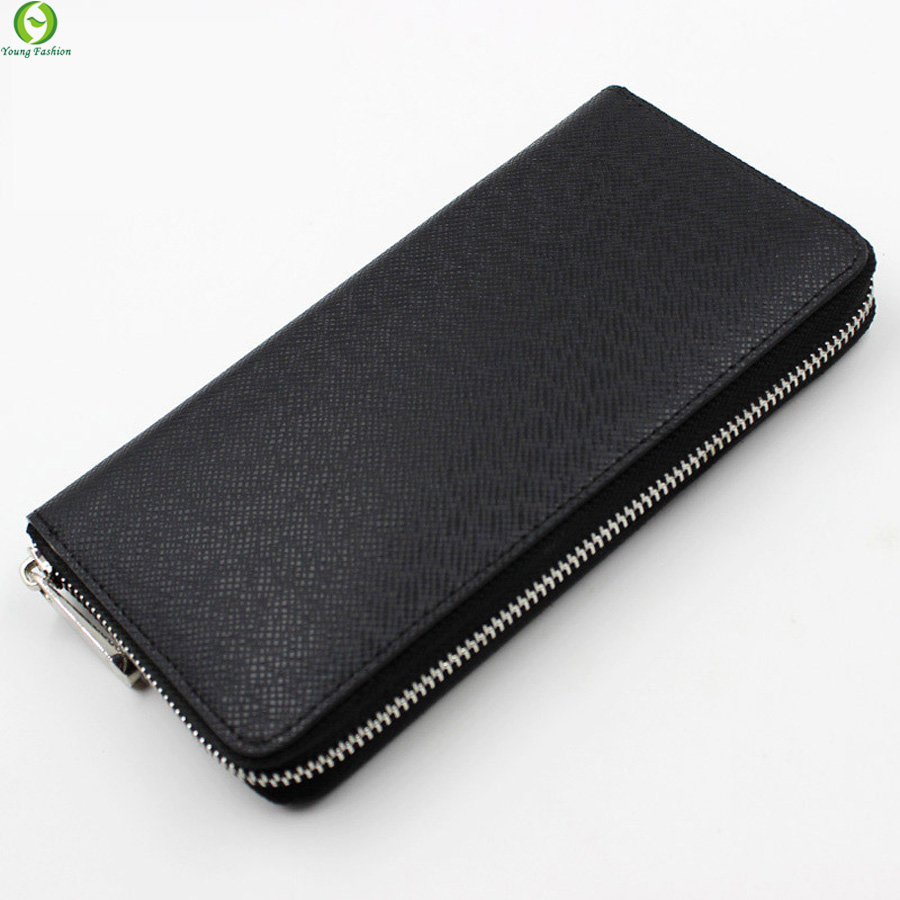 Original Brand Business Mens Long Wallets Zipper Genuine Leather Purse ,mens clutch wallet,new women leather wallet purse bags<br><br>Aliexpress