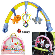 Buy 1pcs Baby hanging baby blue elephant pink bunny music toy Baby Bed & Stroller Toy Baby Rattle for $14.63 in AliExpress store
