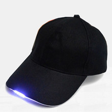 Super Bright LED Cap Glow in dark for Reading LED Lights Hat 2 Modes baseball caps 5 LED lights hats(China)