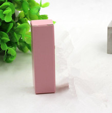 pink paper Lipstick packaging Box,small perfume boxes packaging pink gift boxes 20mm*20mm*85mm(China)