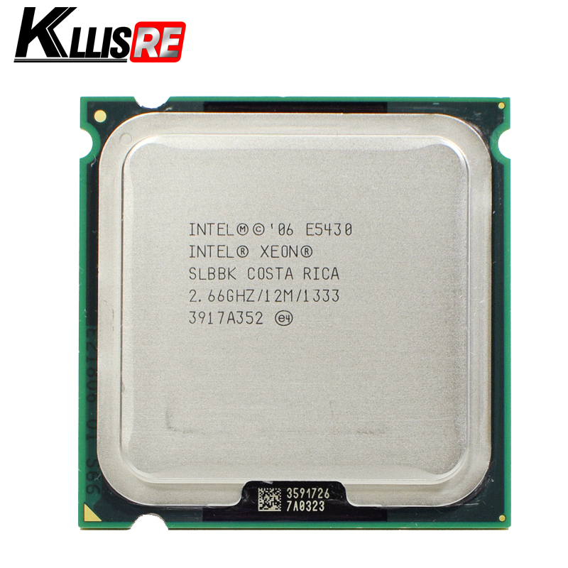 INTEL XEON E5430 2.66GHz 12M 1333Mhz CPU Processor Works on LGA775 motherboard title=