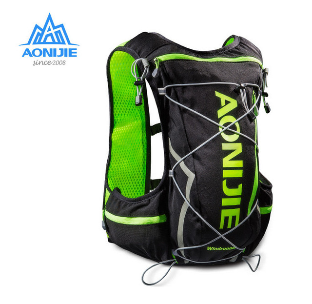 2017 AONIJIE E904 10L Outdoor Bags Hiking Backpack Vest Professional Marathon Running Cycling Backpack for 1.5L/2L Water Bag<br>