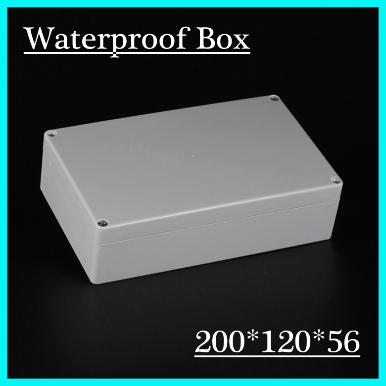 200*120*56mm Free Shipping New Waterproof Plastic Project Box Enclosure<br><br>Aliexpress