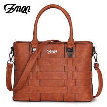 ZMQN Bags Handbags Women Famous Brands Leather Shoulder Designer Handbag Retro Vintage Bag Ladies Tote High Quality Kabelka A821