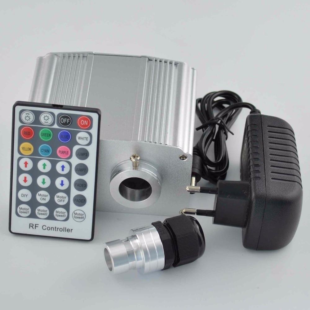 New Cree 10W twinkle RGBW led engine+28key remote+mix fiber strans,DIY fiber lighting home<br><br>Aliexpress