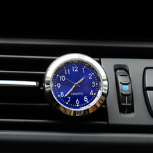 Car thermometer luminous material car clock car electronic watch car air conditioning outlet perfume ornaments