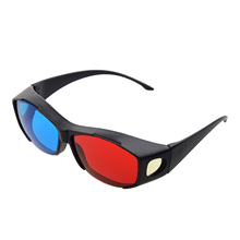 Red Blue Cyan 3D Vision Glasses Anaglyph Glasses for Camera Film(China)