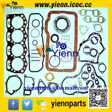 For Mitsubishi 4DR5 Full gasket kit ME997346 with head gasket ME001345 install on KATO HD180G EXCAVATOR 4DR5 diesel engine parts