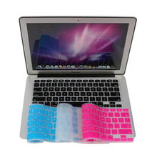 "Keyboard Stickers Silicone Keyboard Cover Skin for Apple for Macbook Pro MAC 13"" 15"" 17"" US Version Free Shipping(China)"