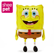 60cm Sponge Bob Baby Toy Spongebob Plush Toy Particle Soft Anime Cosplay Doll For Kids Toys Cartoon Figure Cushion High Quality