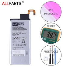 Allparts 2017 ORIGINAL Full Capacity EB-BG925ABE 2600mAh Battery For Samsung GALAXY S6 Edge Battery G9250 G925F S6 Edge Battery