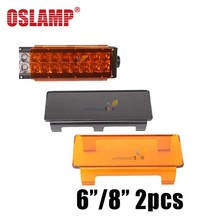Oslamp Car Auto Offroad LED Work Light Bar Protective Cover For Spot Flood Combo Beam Curved LED Lamp Protective Cover 4x4 ATV