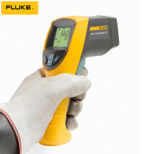 FLUKE F562 handheld infrared thermometer  Infrared and contact kandy thermometer 2 in 1 -32 degrees C to 600 degrees C