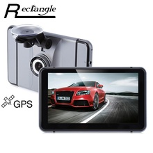 Hot 7 inch Android 4.0 Quad Core Car GPS Navigation with DVR Recorder 1080P 8G Media Player FM Transmitter Support WiFi IGO Map