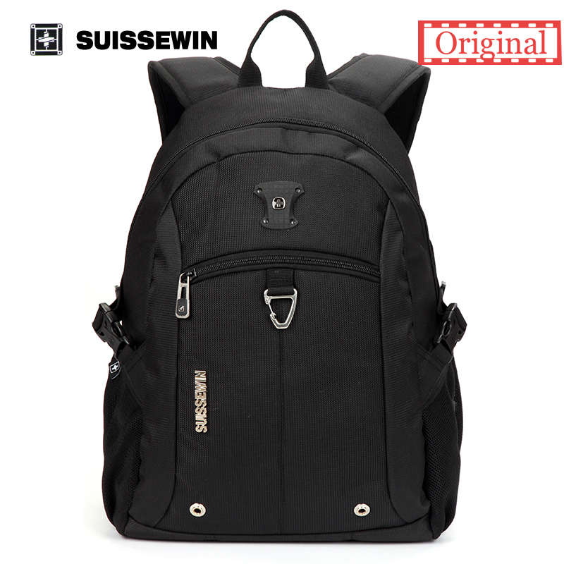 Suissewin Brand Mens Backpack Black Waterproof Travel High Quality School Backpack For Teenage Boys and Girls<br><br>Aliexpress