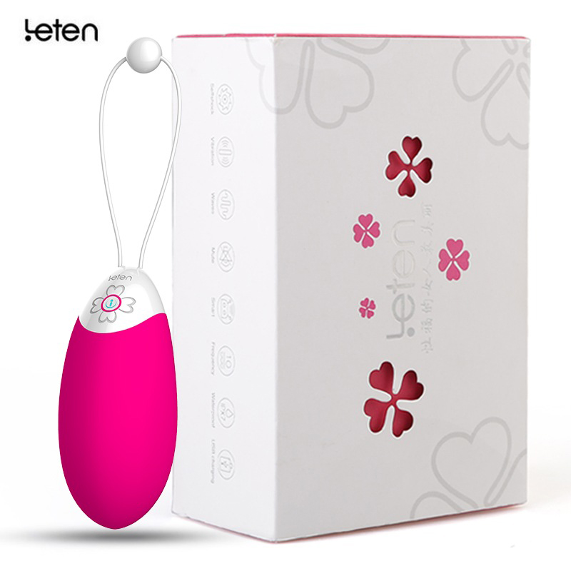 Leten Multi Speed Wireless Waterproof Vibrators,Extreme Comfort Silent Rechargeable Made with Medical-Grade Silicone,Sex Product<br>