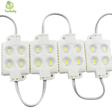 Tanbaby 20pcs/lot 4 LED SMD 5630 Module light ABS Plastic IP65 Waterproof Led strip module DC12V high brightnes channel letter
