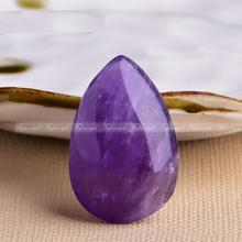 1 PC Rare Natural Amethyst water drop QUARTZ CRYSTAL Garden Cop Natural stones and minerals crystal love