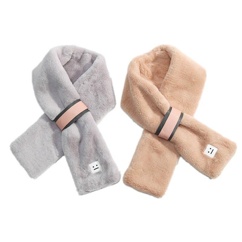 2017 New Warm Autumn Winter Baby Kids Scarf Velvet Fashion Children \'s Pure Color Scarves Boy Girls Neck Warmer Neckerchief