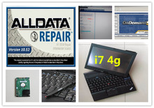 alldata mitchell on demand auto repair software 1tb hdd 2017 installed version laptop x201t i7 4g ready to use all data 10.53