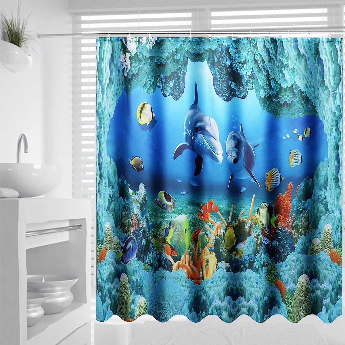Home & Garden 3d Planets Galaxy 72 Shower Curtain Waterproof Fiber Bathroom Windows Toilet Complete In Specifications Curtains, Drapes & Valances