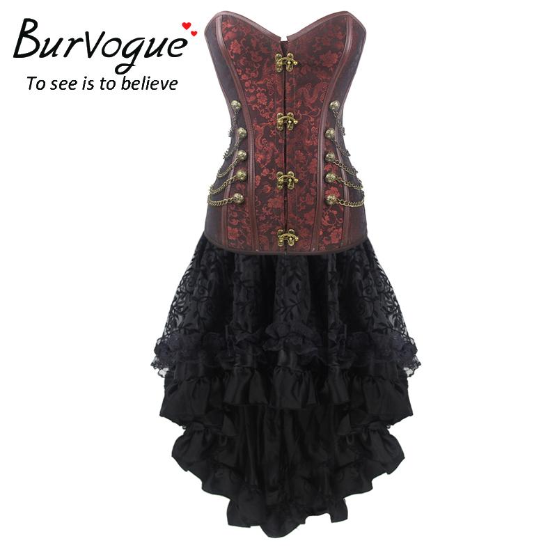 gothic-jacquard-party-corset-dress-p-20063