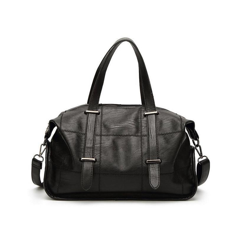 Autumn and winter new wild simple atmosphere ladies big bag fashion shoulder bag Messenger bag handbag<br>