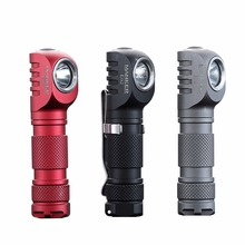 Manker E02 220 Lumen CREE XPG3 /180lm Nichia 219C LED Keychain Light Mini EDC LED Flashlight with Reversible Clip & Magnet Tail(China)