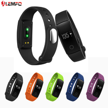 Fashion Bluetooth 4.0 Smart band bracelet & Heart Rate Monitor Activity fitness Tracker Wristband for IOS & Android smartphone