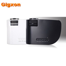 Gigxon - G8005B 2016 Product mini projector latest projector mobile phone home theater portable dvd projectors for Home Use