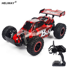 New 1:16 4WD RC Car 2.4G Electric Speed RC Racing Bigfoot Buggy Radio Control Car RC Buggy Highspeed Off-Road Model Toy for Boys(China)