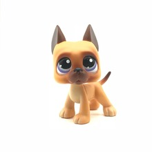 UJ lps Brown poor dog 1pcs quality cute toys Lovely Pet shop animal action figure littlest doll toys 492(China)