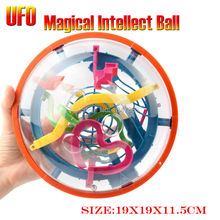 99 Steps 3D puzzle UFO Ball Magic Intellect Ball Puzzle IQ Balance Logic Ability Game Educational toys for Children adults