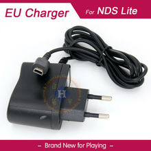 Black EU Plug charger Power Supply Ac adapter for Nintendo DSL DS Lite Console