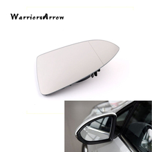 WarriorsArrow Heated Driver Left Side Door Wing Mirror Blind Spot For VW e-Golf 2014-2016 GOLF 2013-2017 MK7 5G0857521(China)