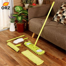 ORZ 5 in 1 Household Cleaning Tools Stream Floor Mop Wiper Duster Cleaning Cloth Drying Flat Mop Head Floor Sweeper(China)