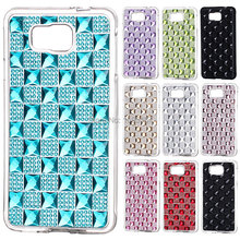 Resin diamond soft jewel TPU Case Cover Skin for Samsung Galaxy Alpha Alfa SM-G850 eTc