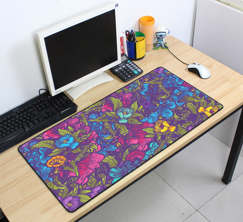 Custom Large mouse pad 700x400mm speed Keyboards Mat Rubber Gaming mousepad Desk Mat for game player Desktop PC Computer Laptop 9