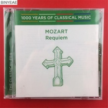 BINYEAE- new CD sealing: 1000 Years of Classical Music Mozart Requiem Australian version of the CD light disk [free shipping](China)