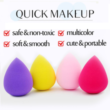 2 Sizes Seire 1 Great Beauty Soft Sponge Drop Shape Blender Makeup Blending Foundation Smooth Sponge Cosmetic Powder Puff