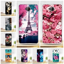 Painted Case For Nokia lumia 650 Cover Silicon Soft Cover For nokia Microsoft Lumia 650 Case for Nokia Microsoft Lumia 650 Bags(China)