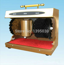 Shoe polishing machine Automatic Induction shoe cleaning machine high speed Shoe shine machine leather shoes polisher(China)