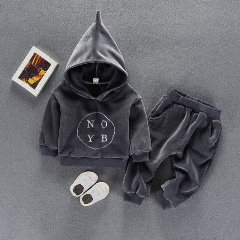 Boys Girls Clothing Set 2017 Children Two Piece Suit Autumn Totoro Hoodie Shirt Jacket +pants Children Sweater Suit<br>