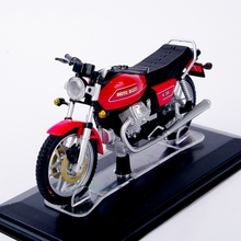 Collectible 1:22 Scale Moto Guzzi V35 Diecast Motorcycle Motorbike Model Toys Vehicles Gift B