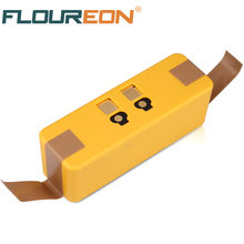 FLOUREON 14.4V 4600mAh Battery for iRobot Roomba 500 600 700 800 Series 535 540 563 565 570 580 610 760 780 Li-ion